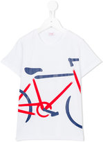 Il Gufo bike print T-shirt - kids - Cotton/Spandex/Elastane - 2 yrs