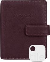 Kenneth Cole Reaction Deluxe Passport Wallet with Tracker