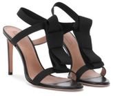 Hugo Boss Bow Tie Sandal Bow Tie Leather Sandal 9 Black