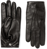 Alexander McQueen Leather Gloves - Black