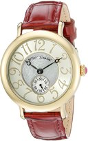 Betsey Johnson Women's BJ00511-07 Gold Watch