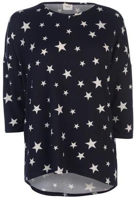 JDY Sleeveless Logo Print T Shirt
