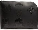 Alexander Mcqueen Badge-appliqué Leather Pouch