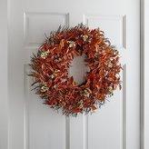 Crate & Barrel Rust Berry Wreath