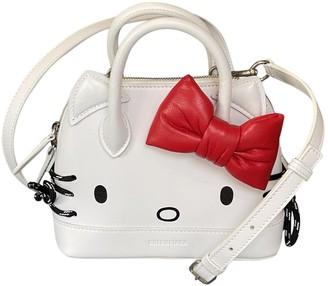 Balenciaga White Leather Handbags