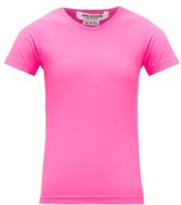Junya Watanabe Technical-jersey T-shirt - Womens - Pink