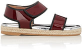Marni WOMEN'S DOUBLE-BAND ESPADRILLE SANDALS-RED SIZE 6