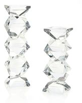 John-Richard Collection Geometric Crystal Candleholder