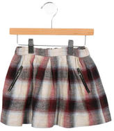 Bonpoint Girls' Plaid A-Line Skirt