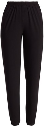 Caroline Rose Petite Stretch Jersey Slim-Fit Pants