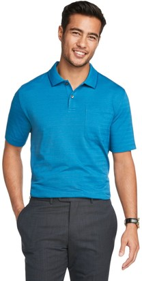 Van Heusen Men's Flex Slim-Fit Striped Polo