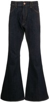 YMC Canyon mid-rise flared jeans