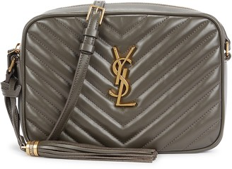 Saint Laurent Lou quilted leather cross-body bag