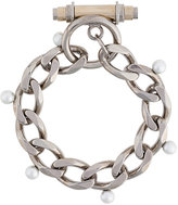 Givenchy Obsedia faux pearl bracelet