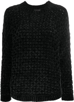 Emporio Armani Textured Chenille Jumper