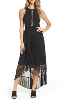 Adelyn Rae Women's Irina Pleated High/low Dress