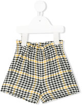 Il Gufo houndstooth tailored shorts