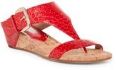 Donald J Pliner Doli 3 Embossed Wedge Sandal
