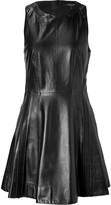 Rag & Bone Black Leather Dress