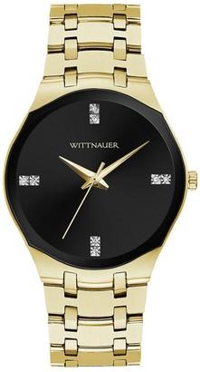 Wittnauer Women's Modern Diamond Dial Watch