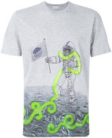 Etro astronaut print T-shirt - men - Cotton - M