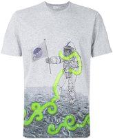Etro astronaut print T-shirt - men - Cotton - S