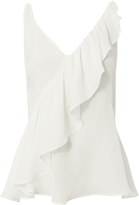 Exclusive for Intermix Tess Sleeveless Ruffle Top