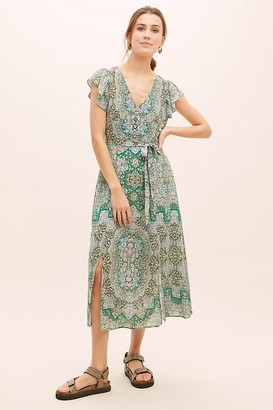 Anthropologie x Kachel Grace Midi Dress