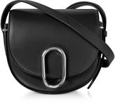 3.1 Phillip Lim Alix Black Leather Mini Saddle Crossbody Bag