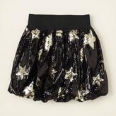 Children's Place Star sequin bubble skirt