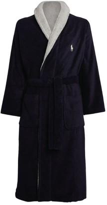 Ralph Lauren Colour-Block Polo Pony Robe