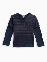 Splendid Little Boy Indigo 2Fer Tee