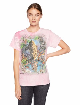 The Mountain Enchanted Wolf Pool Adult Woman's T-Shirt