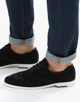 Aldo Caliva Suede Oxford ToeCap Shoes