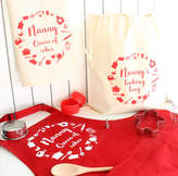 Precious Little Plum Personalised Baking Apron Set