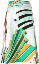 Emilio Pucci printed skirt - women - Cotton/Spandex/Elastane - 40
