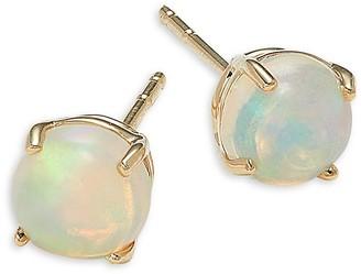 Saks Fifth Avenue 14K Yellow Gold & Opal Earrings