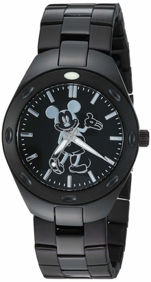 Disney Men's Mickey Mouse Analog-Quartz Watch with Stainless-Steel Strap