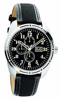 Dolce & Gabbana Men's Bariloche DW0640 Calf Skin Quartz Watch with Dial