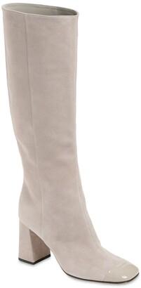 Sergio Rossi 90mm Sr Alicia Suede Tall Boots