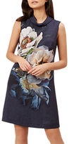 Hobbs Hermione Dress, Navy/Multi