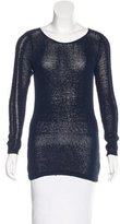 Rachel Zoe Open Knit Scoop Neck Sweater w/ Tags