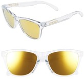 Oakley Women's Frogskins 54Mm Sunglasses - Crystal Clear/ 24K Iridium