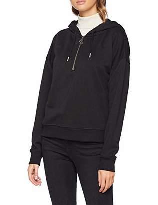 New Look Women's Half Zip 6152241 Hoodie,(Manufacturer Size:)
