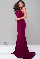 Jovani Jersey Fitted Open Back Dress JVN42892