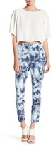 Lysse Printed Twill Cigarette Pants