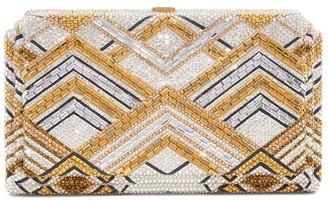 Judith Leiber Swanson Gaia Box Clutch Bag