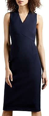 Ted Baker Crossover Sheath Dress