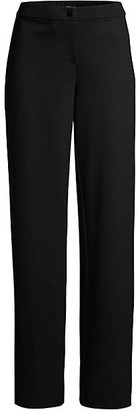 Eileen Fisher Straight-Leg Full Pants
