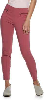 Candies Juniors' Candie's Front-Seam Pull-On High-Waisted Pants